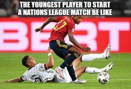 Nations league memes
